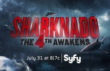 Sharknado: The 4th Awakens: une affiche qui parodie Star Wars