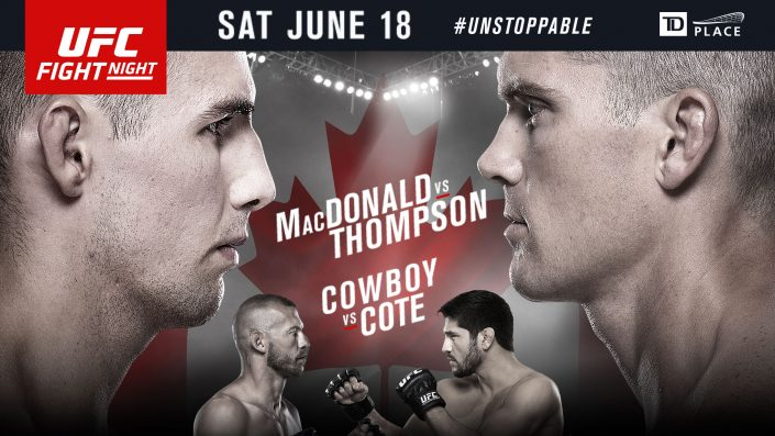UFC Fight Night MacDonald vs Thompson