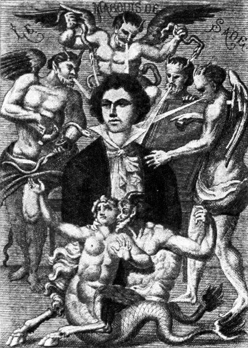 Portrait du marquis de Sade par H. Biberstein