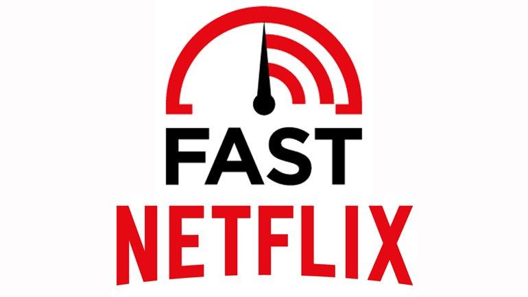 Netflix lance l'outil de mesure de vitesse Fast.com