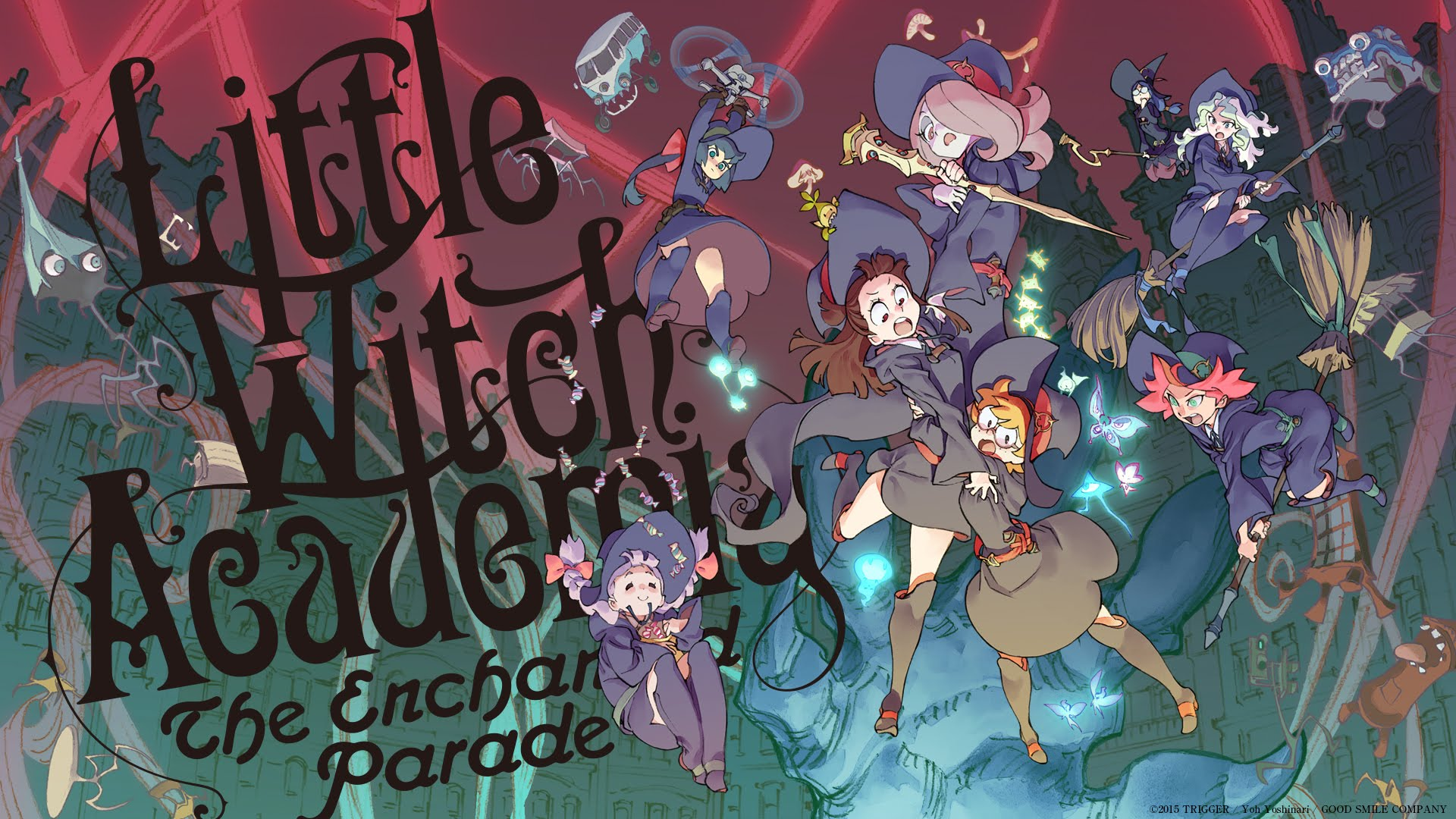 Little Witch Academia: Trigger confirme l'animé télévisé