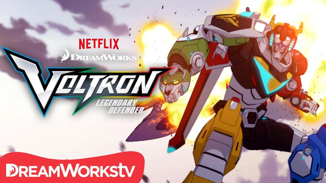 Voltron - Le Défenseur légendaire arrive sur Netflix en juin