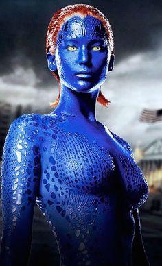 Mystique est incarné par Jennifer Lawrence