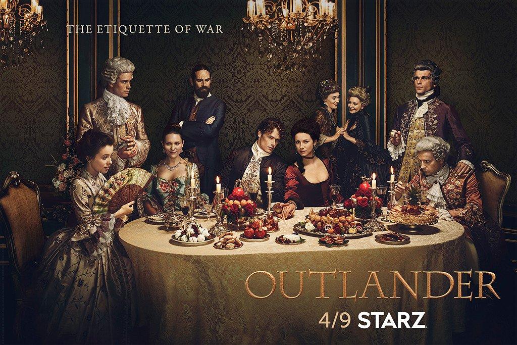 Outlander - Le chardon et le tartan renouvelé pour 2 autres saisons