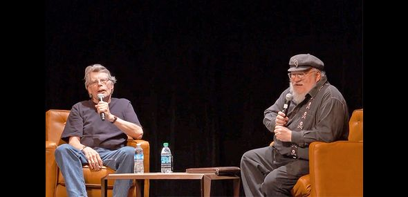 George RR Martin (Game of Thrones) et Stephen King
