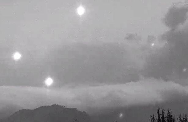 volcan Popocatepetl  ovnis