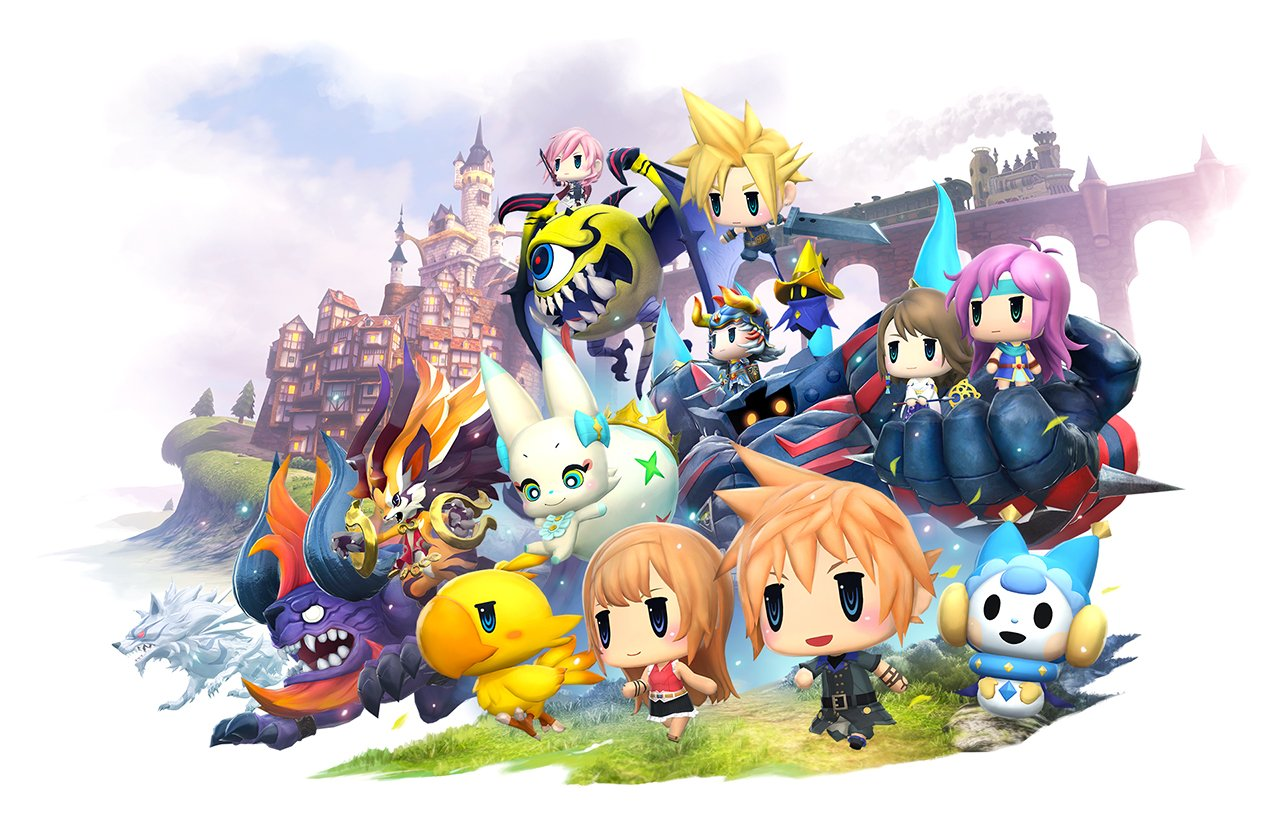 World of Final Fantasy: 10 minutes de gameplay (vidéo)