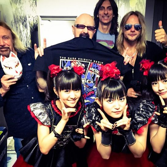 AP Awards: BABYMETAL Rob Halford