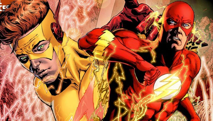 The Flash saison 3: une photo de Keiynan Lonsdale en Kid Flash
