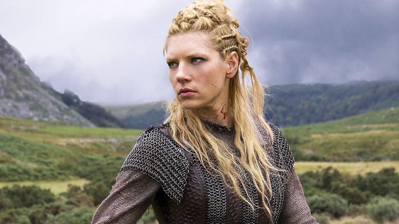 Vikings saison 4:  Katheryn Winnick (Lagertha) a un nouveau look