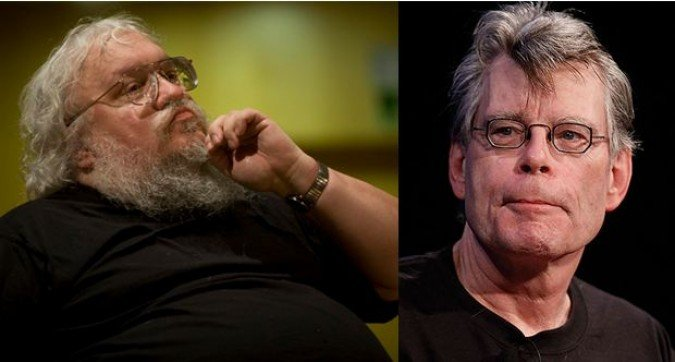 Quand George RR Martin rencontre Stephen King (video)