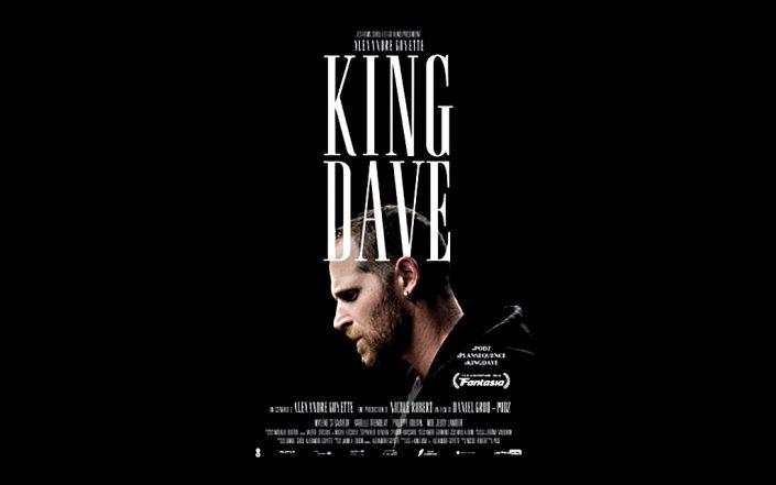 King Dave : affiche du film est signée par Alexandre Renzo.