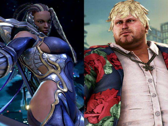 Tekken 7 Master Raven et Bob