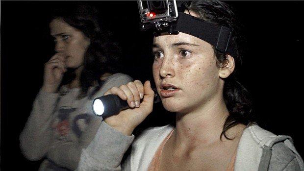 Luna Miti joue Olivia dans Therapy en plus de filmer une partie du found footage avec une GoPro.