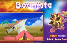 Pokémon Soleil et Pokémon Lune: voici Boumata