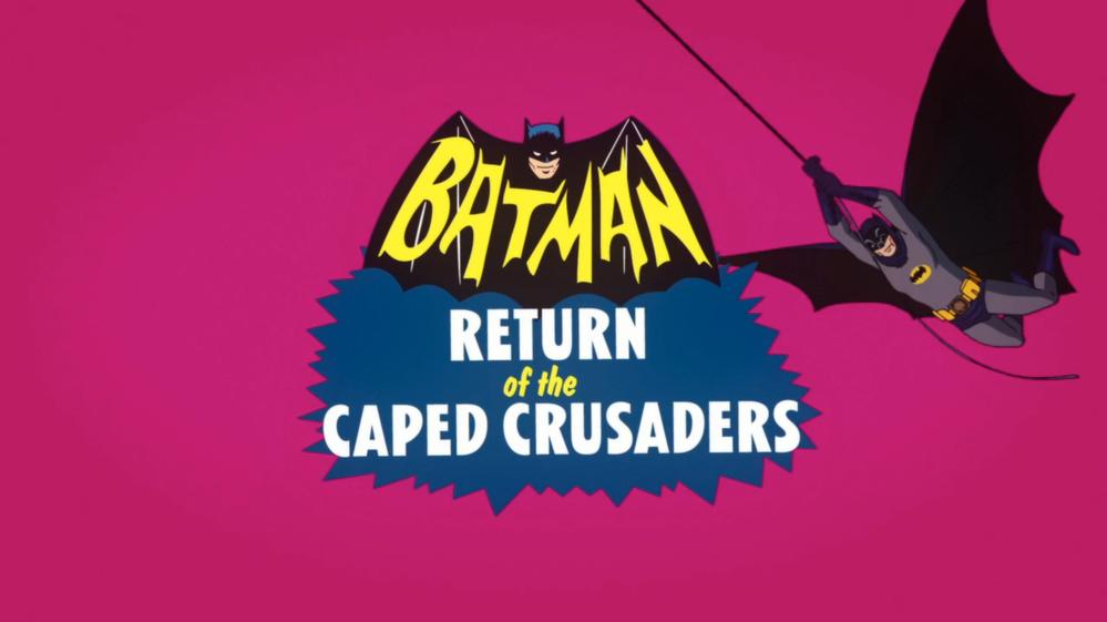 Batman: Return of the Caped Crusaders: le retour des voix originales