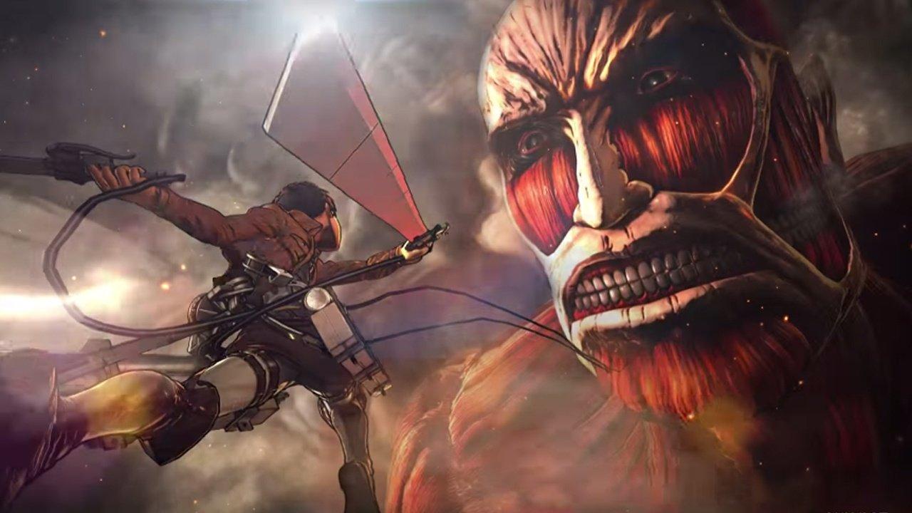 L'Attaque des Titans: un trailer pour le jeu vidéo Attack on Titan