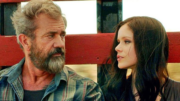 Mel Gibson et Erin Moriarty dans Blood Father.