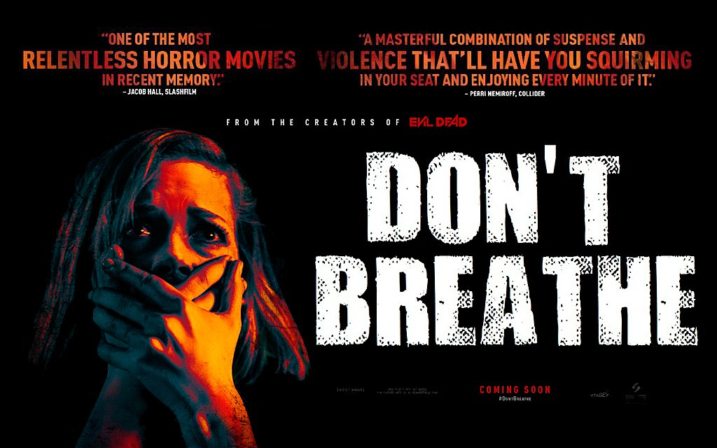 Don't Breathe - Critique du film de Fede Alvarez