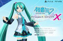 Hatsune Miku Project Diva X: une nouvelle bande-annonce