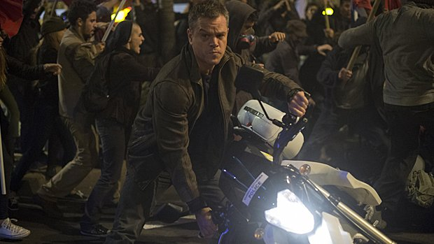 Matt Damon est Jason Bourne.