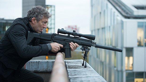 Vincent Cassel dans Jason Bourne.