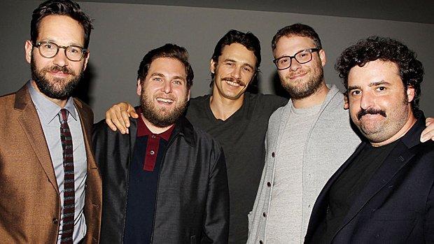 Paul Rudd, Jonah Hill, James Franco, Seth Rogen et David Krumholtz prêtent leur voix à des personnages de Sausage Party.