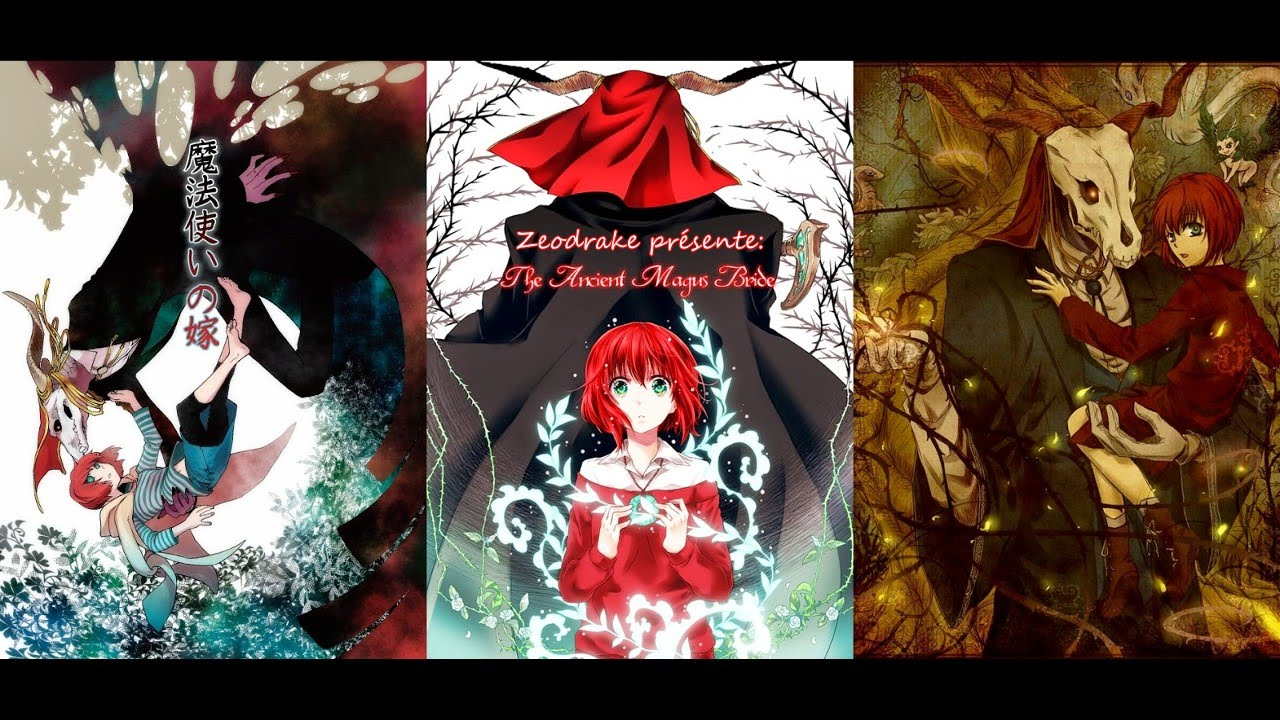 The Ancient Magus Bride en simulcast sur Crunchyroll