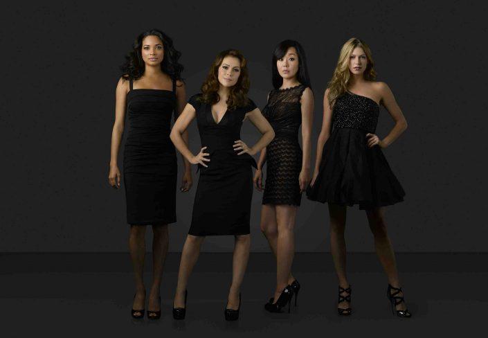 Mistresses:  Rochelle Aytes, Alyssa Milano, Yunjin Kim et Jes Macallan. (ABC/Bob D'Amico)