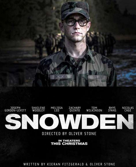 Snowden film 2016
