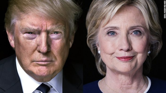 Hillary Clinton V Donald Trump