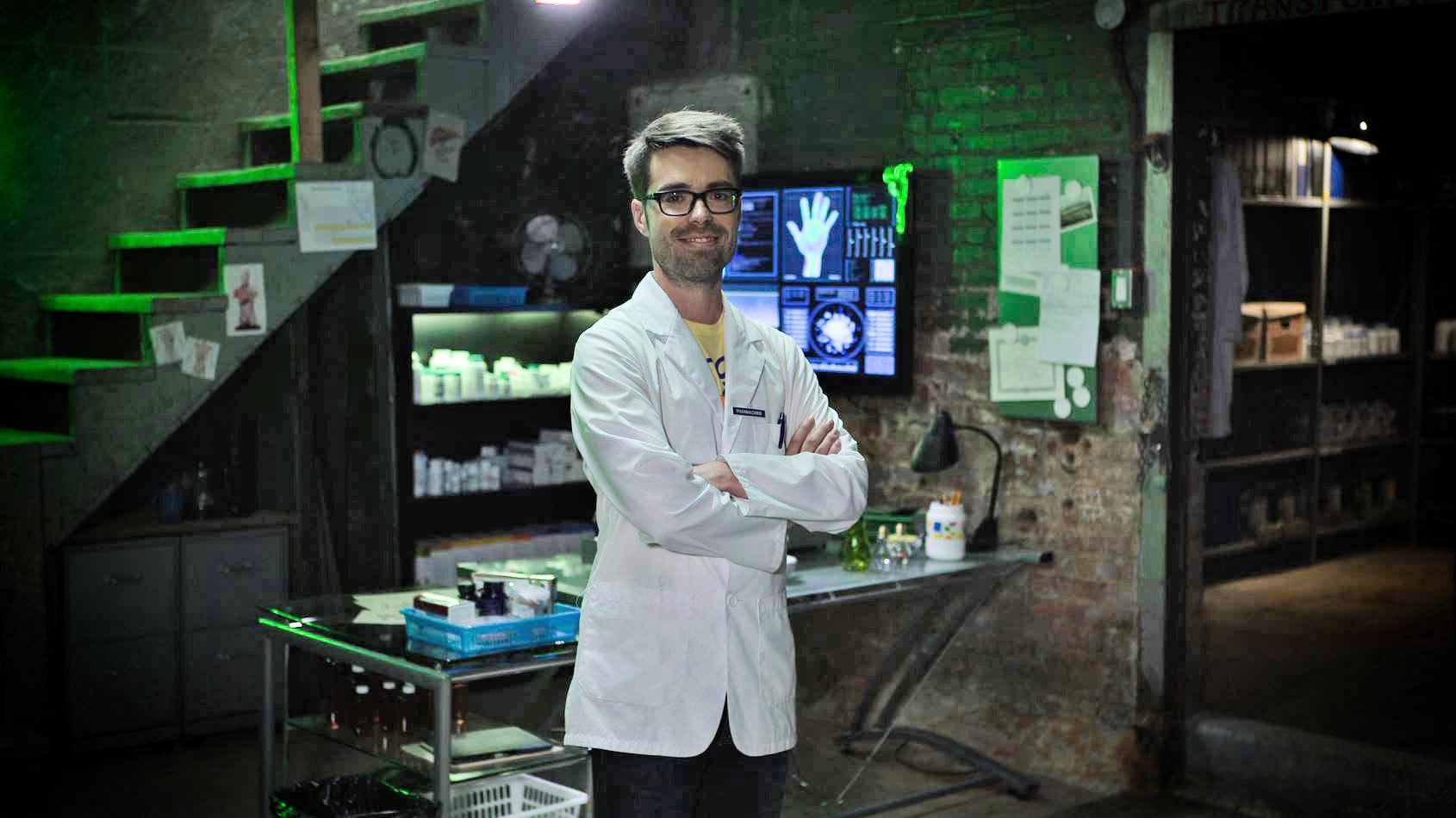 Les Aventures du Pharmachien sur Explora en décembre