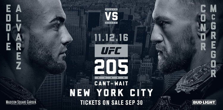 UFC 205 McGregor vs Alvarez