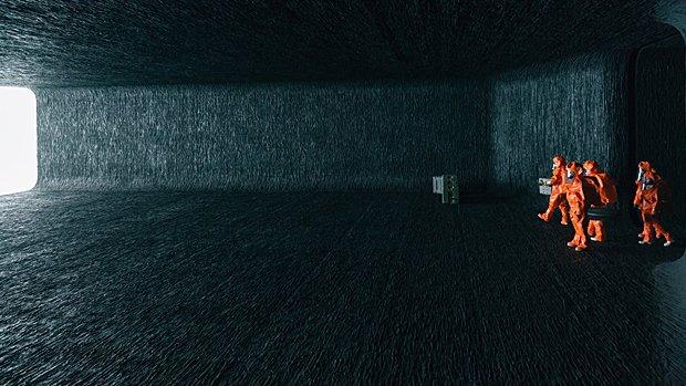 Le décor de l'intérieur du vaisseau est à couper le souffle...