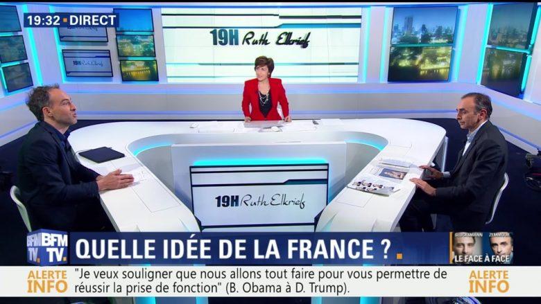 Ruth Elkrief : Raphaël Glucksmann face à Éric Zemmour