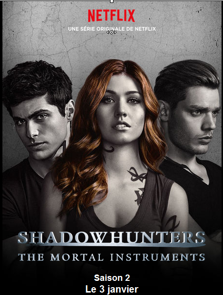 Shadowhunters saison 2