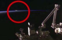 La Station spatiale internationale (ISS) a-t-elle filmée un OVNI?