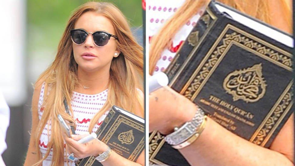 Fake News: NON Lindsay Lohan ne s'est pas convertie à l'islam