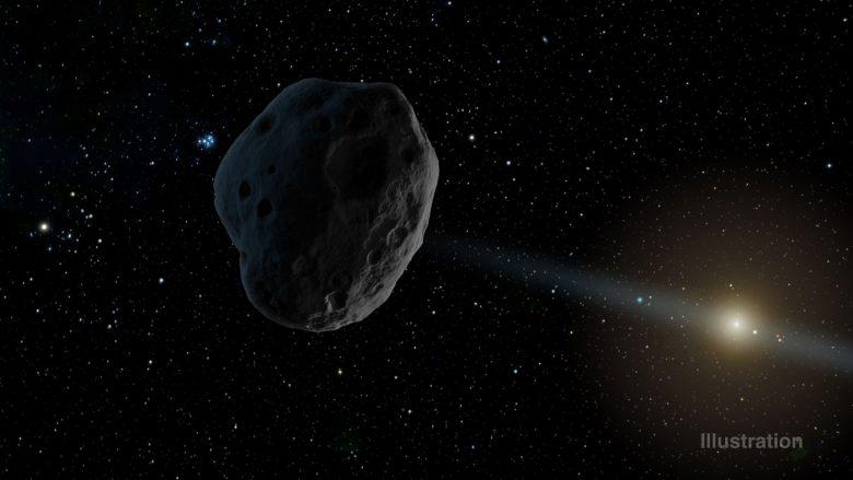 Non l'astéroïde 2016 WF9 ne frappera pas la Terre le 16 février prochain