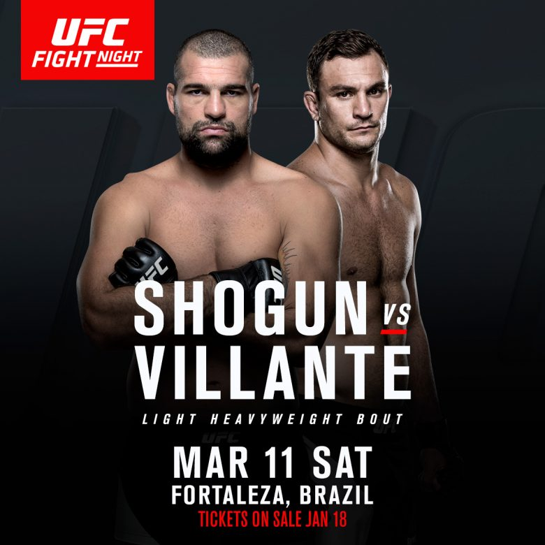 UFC Fight Night: Gian Villante vs Mauricio Rua