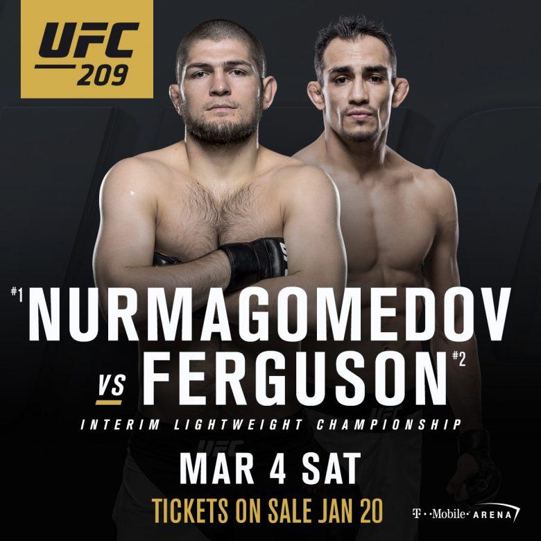 Nurmagomedov, Ferguson UFC 209