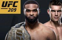 UFC 209: Woodley vs Thompson 2 sur Canal Indigo et stream