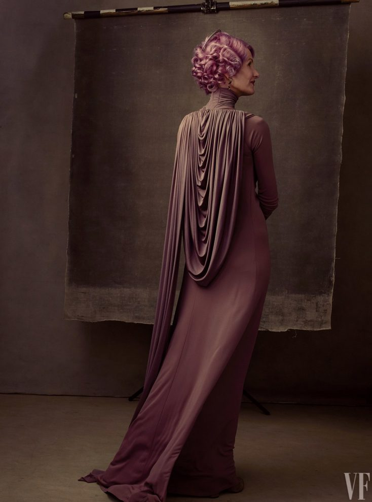 Laura Dern, as Vice Admiral Amilyn Holdo