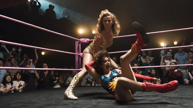 GLOW Alison Brie et Betty Gilpin