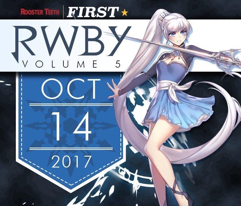RWBY Volume 5 poster
