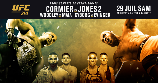ufc 214 cormier vs jones 2 les live stream et sur canal indigo. Black Bedroom Furniture Sets. Home Design Ideas