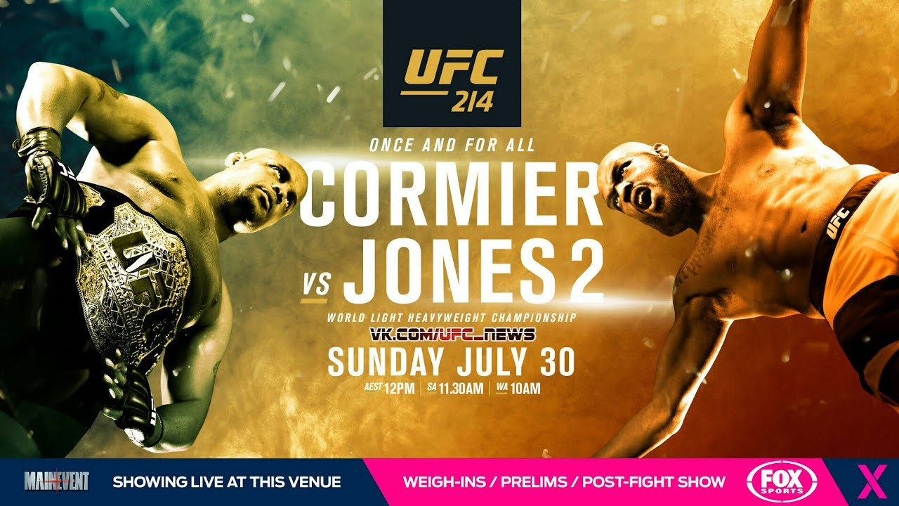 Cormier vs. Jones 2 en stream