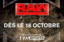 TVA Sports signe une entente avec la WWE et va diffuser RAW