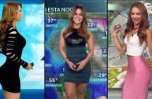 Les 20 plus belles présentatrices météo au monde
