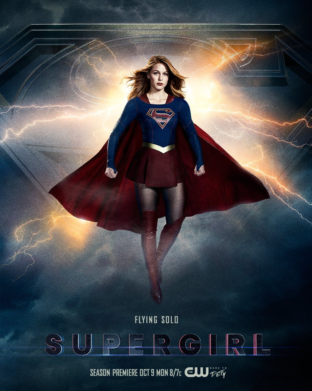 Supergirl saison 3 poster Girl of Steel